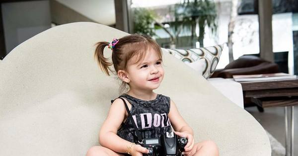 Valentina, filha de Mirella Santos e Ceará, tem dia de modelo ...