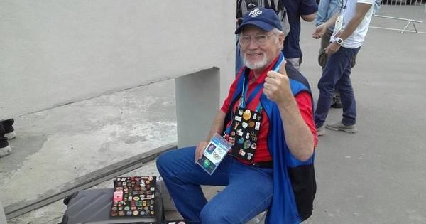 Com 14 Olimpíadas e muitos pins na bagagem, colecionador tem ...
