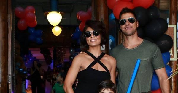 Juliana Paes comemora os três anos do filho com festona no Rio ...