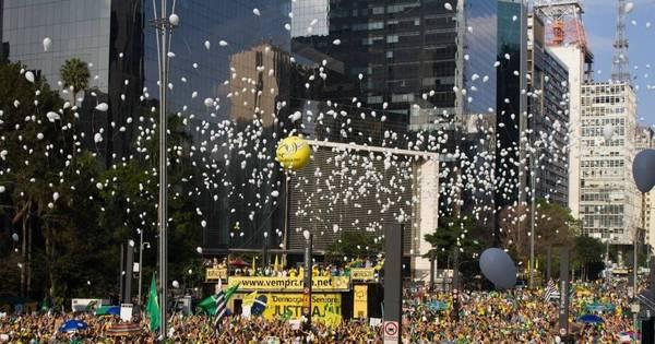 Diversas cidades do País têm protestos a favor e contra o ...