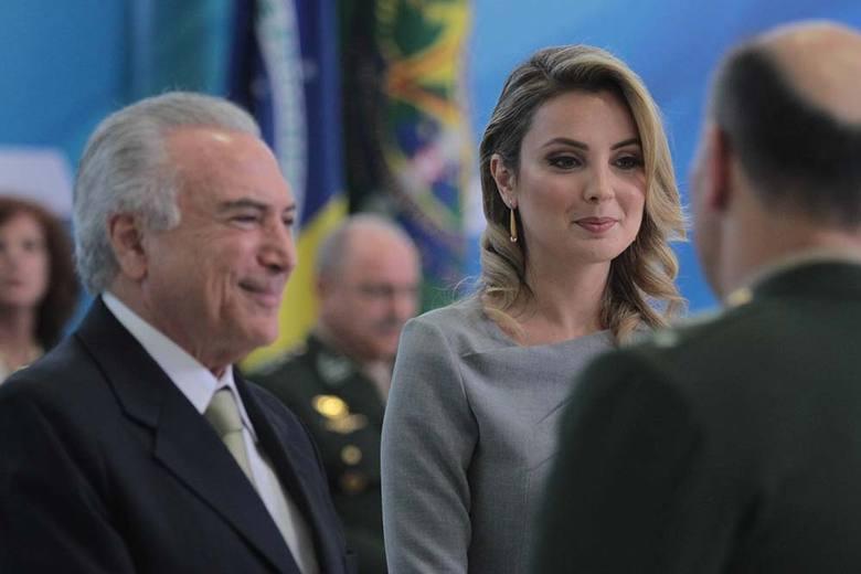 O presidente Michel Temer participou na última quarta-feira (3), no Palácio do Planalto, do evento de promoção de oficiais-generais do Exército Brasileiro