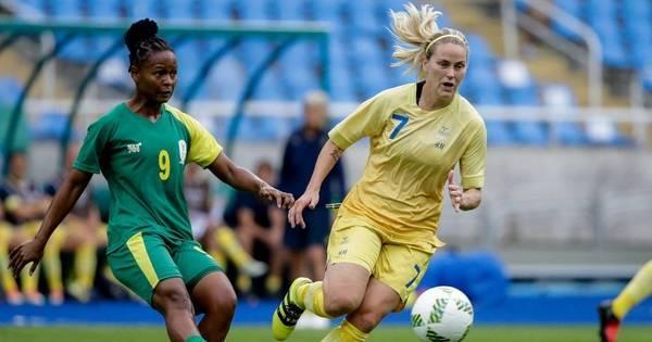 Na primeira partida dos Jogos Olímpicos, Suécia bate a África do ...