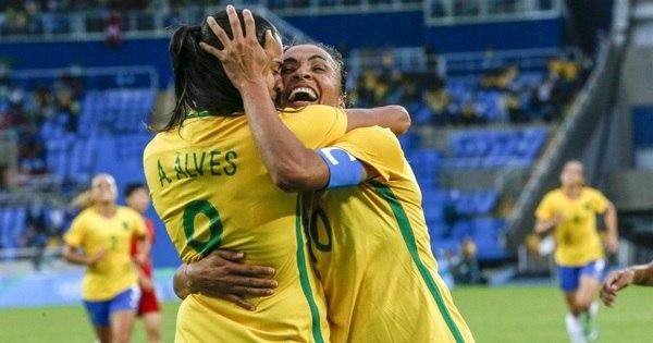 Sem Cristiane e já classificadas, meninas do Brasil apenas ...