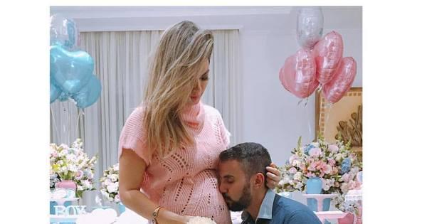 Grávida de quatro meses, Kelly Key está esperando um menino ...