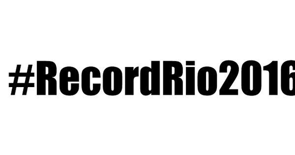 Record libera emoji exclusivo no Twitter para a Olimpíada - Rede ...