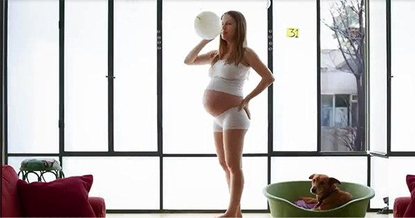 Casal resume nove meses de gravidez em vídeo de menos de um ...