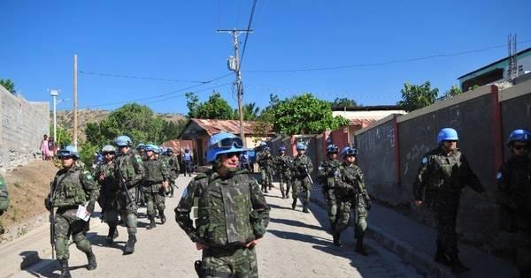 Saída das tropas da ONU do Haiti pode ser adiada para abril de ...