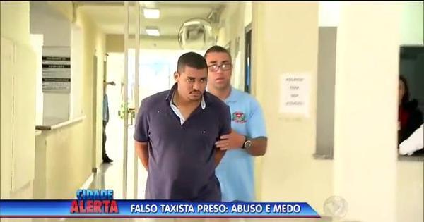 Falso taxista é preso após abusar sexualmente de jovem de 18 anos