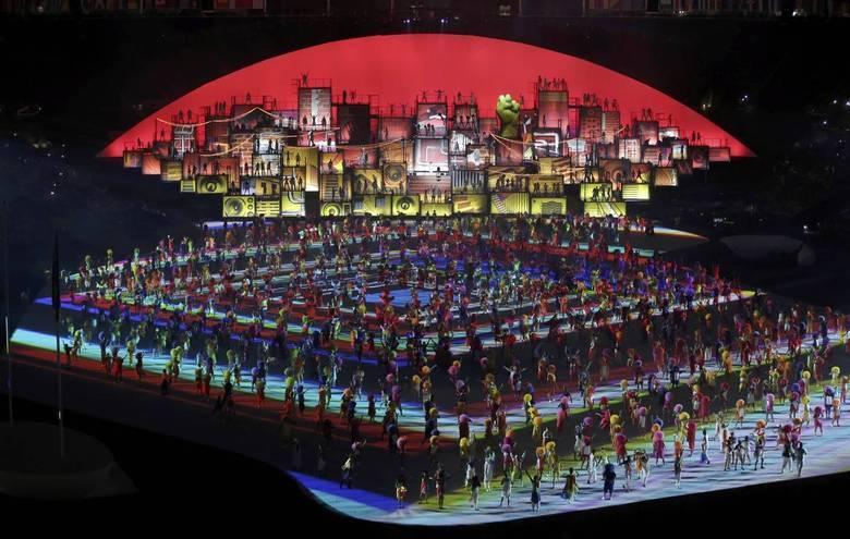 Muitas danças foram exibidas na abertura dos Jogos Olímpicos