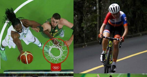 Derrota do basquete, acidente em prova de ciclismo e destaque na ...