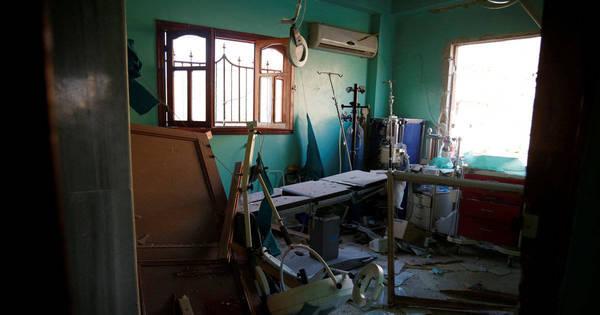 Ataque aéreo em hospital na Síria mata pelo menos 10 pessoas ...