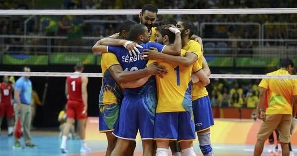 Brasil leva susto do México, mas vence de virada na estreia no vôlei ...