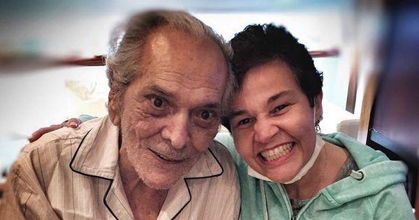 Lúcio Mauro recebe visita de Claudia Rodrigues - Entretenimento ...