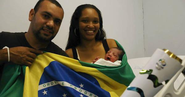 Theo, o 'bebê olímpico', nasce durante abertura dos Jogos no Rio ...