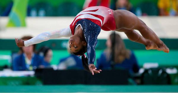 EUA levam ouro na ginástica feminina; brasileiras ficam em 8º ...