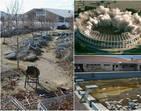 Imagens sombrias  de instalações olímpicas mostram abandono total
