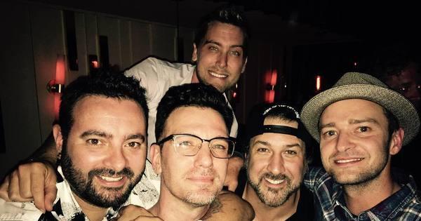 Justin Timberlake reencontra ex- integrantes do N'Sync ...