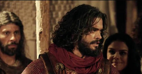 """Josué prepara o exército para a travessia do Rio Jordão: """"Vamos ..."""