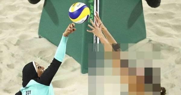 Site 'cobre' corpo de jogadora de vôlei de praia em foto - Rede ...