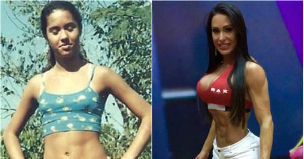 Em dieta há 15 anos, Gracyanne Barbosa conta que já levou ...