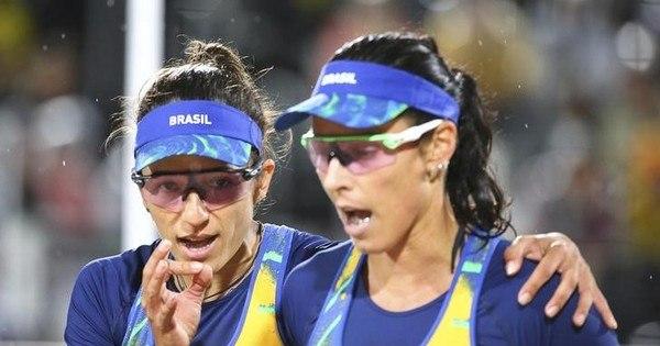 Classificadas, Ágatha e Bárbara perdem para espanholas no vôlei ...