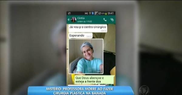 RJ: professora morre após cirurgia plástica na barriga e família ...