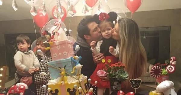 Filha de Mirella Santos e Ceará ganha festa de aniversário com ...
