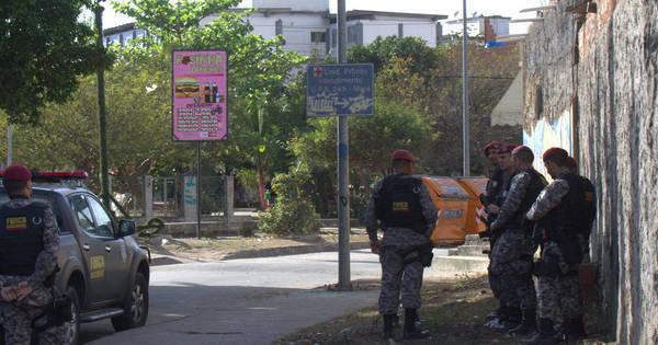 Força Nacional faz cerco em acessos do Complexo da Maré após ...