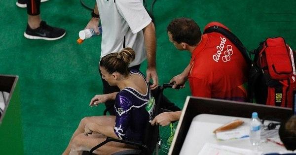 Lesão de Jade Barbosa engrossa lista de acidentes da Rio 2016 ...