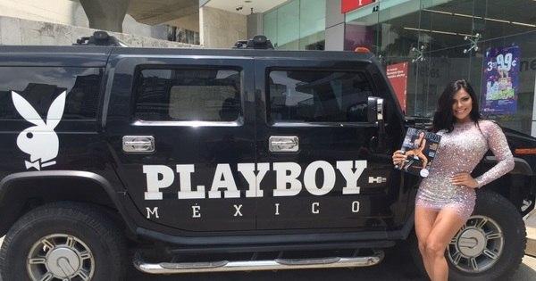 Capa de revista, Suzy Cortez faz lançamento da Playboy no México ...