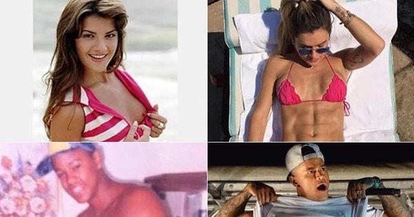 Veja a evolução do corpo dos famosos após muita dieta e academia