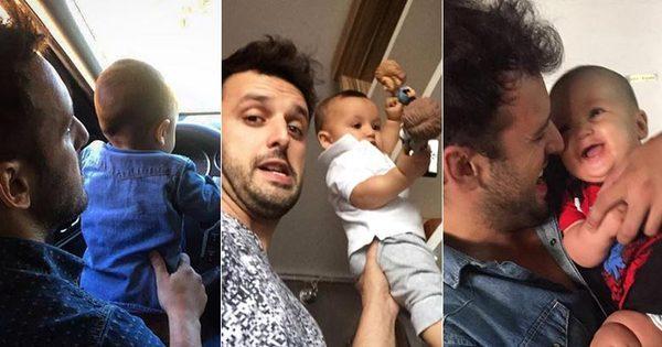 Rodrigo Capella e Theozinho ulcapricham nas fotos fofas na web ...