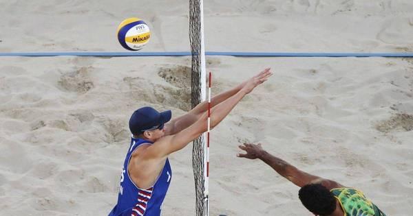 No vôlei de praia, Pedro Solberg e Evandro perdem e são ...