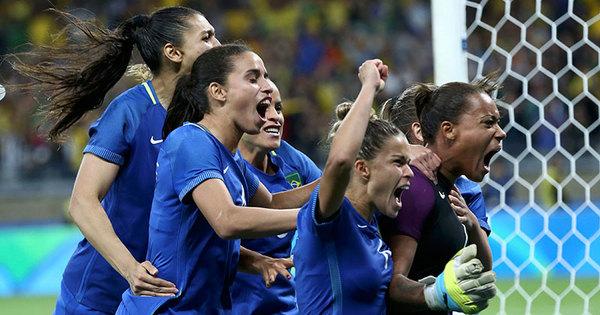 Bárbara! Goleira brilha nos pênaltis contra a Austrália e leva Brasil à ...