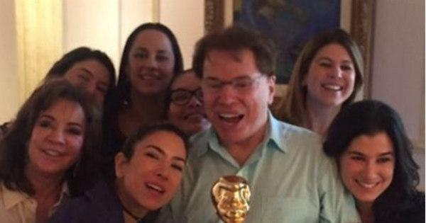 Patrícia Abravanel revela presente das filhas para Silvio Santos ...