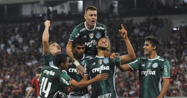 Palmeiras quebra série invicta do Atlético- PR e aumenta vantagem ...