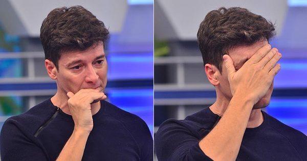 """Rodrigo Faro chora ao revelar momento de intimidade: """"Tive uma ..."""
