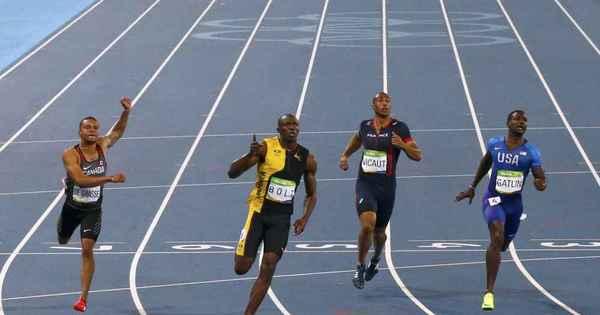 """Para ser """"imortal"""", Bolt diz que vai buscar recorde mundial dos 200 ..."""