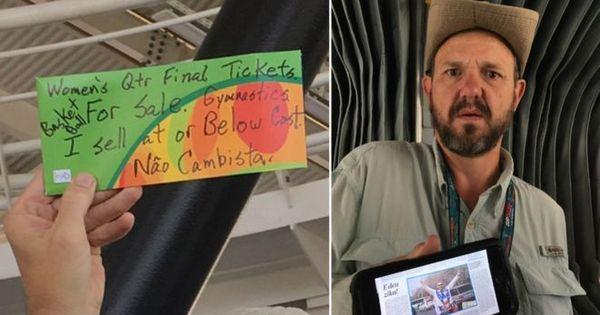 Turista é preso como cambista ao vender ingressos de parentes ...