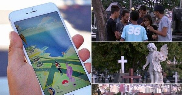 Desrespeito ou brincadeira inofensiva? Cemitérios atraem jovens ...