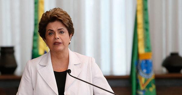 Dilma reafirma que impeachment é 'golpe' e reforça apoio a ...
