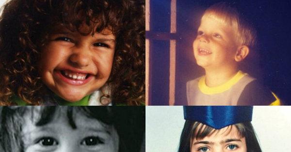Que fofura! Veja como era o elenco da Record na infância - Fotos ...