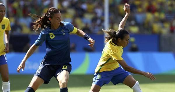 Brasil disputa medalha de bronze no futebol feminino e vôlei ...