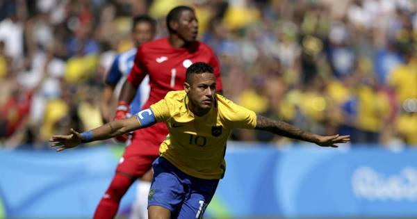 Neymar marca o gol mais rápido das história das Olimpíadas - Rede ...