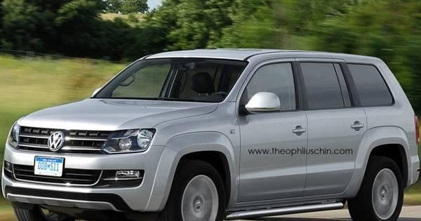 Volkswagen planeja SUV baseado na Amarok com alvo na Toyota ...