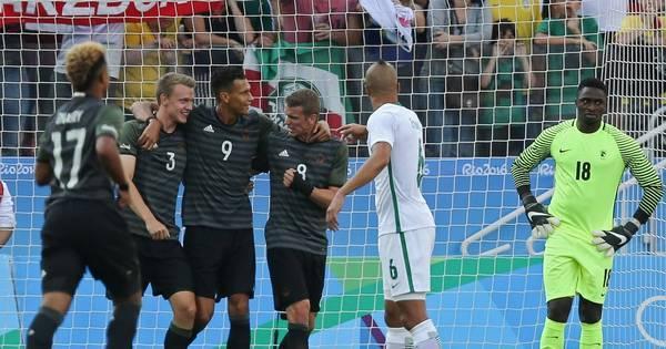 Revanche do 7 a 1? Alemanha vence a Nigéria e decide medalha ...