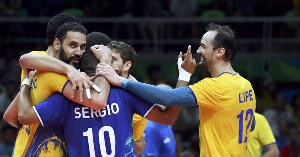 Brasil vence a Argentina e está nas semifinais do torneio masculino ...