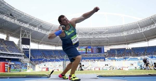 Brasileiro quebra recorde nacional e vai à final do arremesso de peso