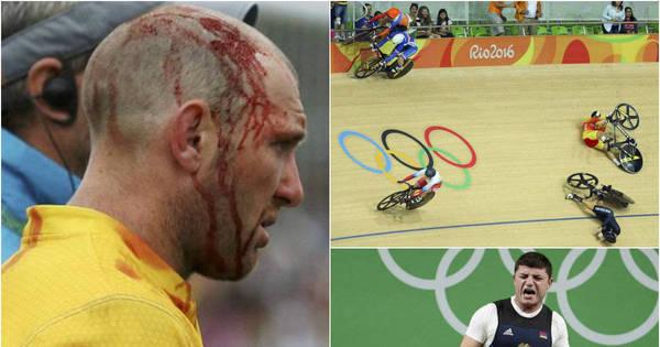 Acidentes impressionantes assustaram o público na Rio 2016 ...