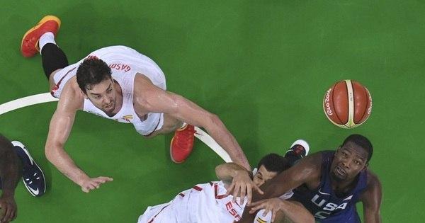 Estados Unidos vencem Espanha e fazem final do basquete ...